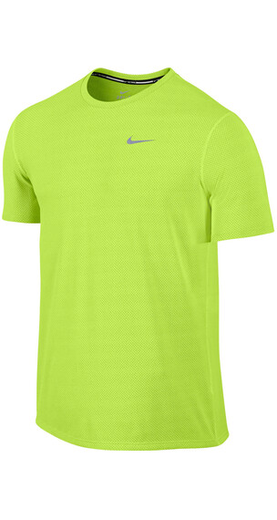 Nike Dri-FIT Contour SS Shirt Men volt/reflective silver